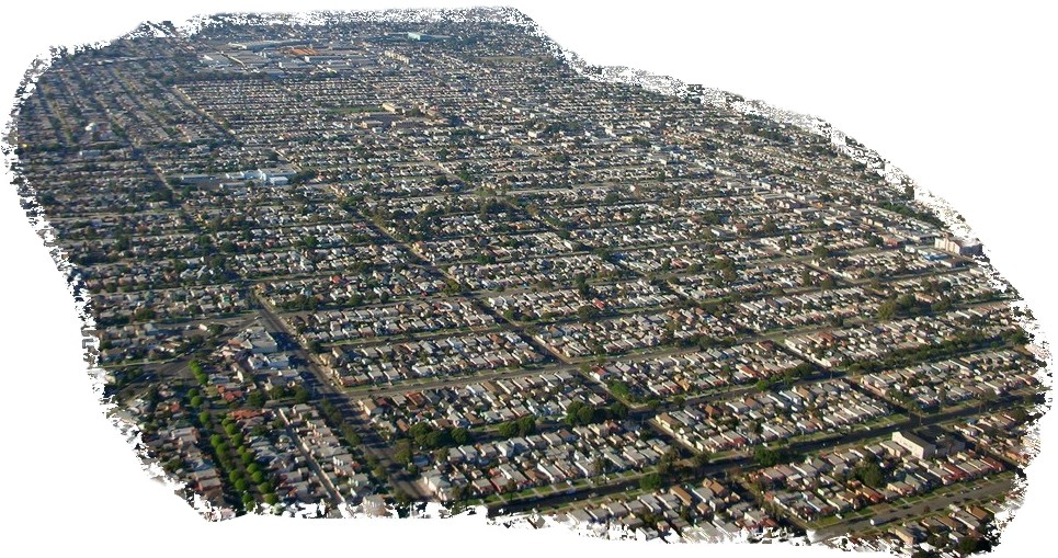 Urban sprawl in Los Angeles (USA); Quelle: Flickr