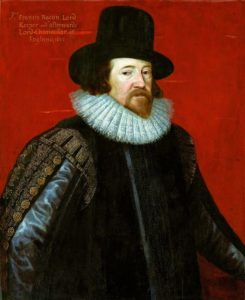 Philosoph und Staatsmann Francis Bacon