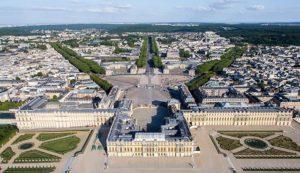 Schloss Versailles mit Barockgarten