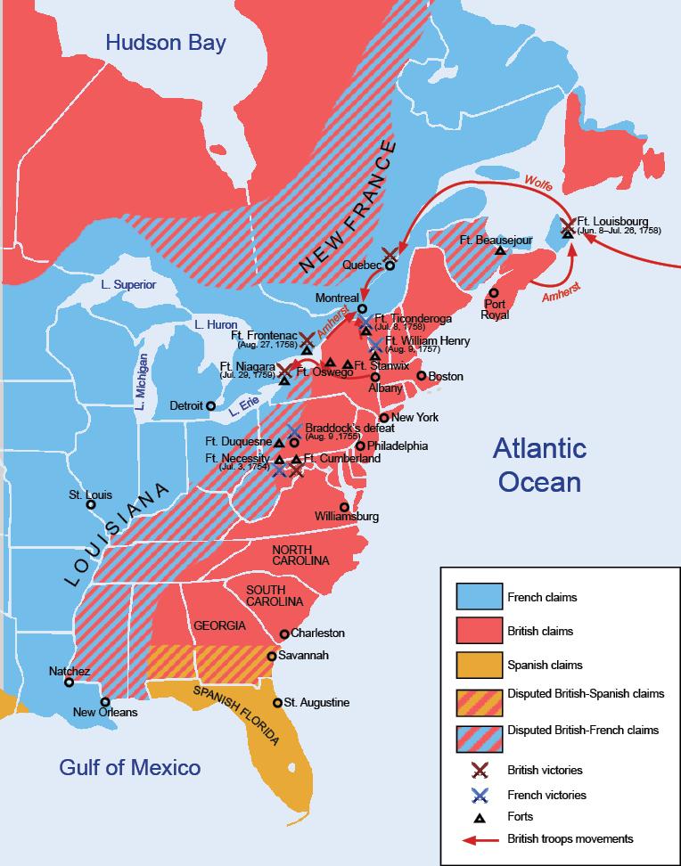 Siebenjähriger Krieg in Amerika