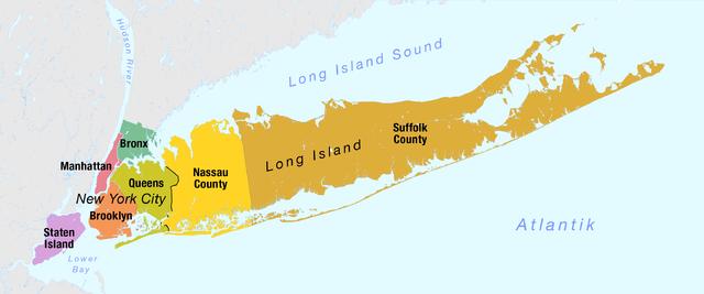 Stadtbezirke von New York