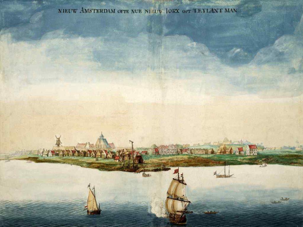 Gemälde Neu-Amsterdam